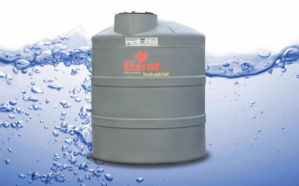 Tanque industrial reforzado eternit 12000 lts materialespro for Tanques de agua eternit